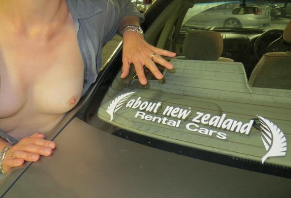 Modesty Ablaze Car Park Scavenger Hunt