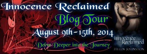 Helen Johnston's Innocence Reclaimed Blog Tour